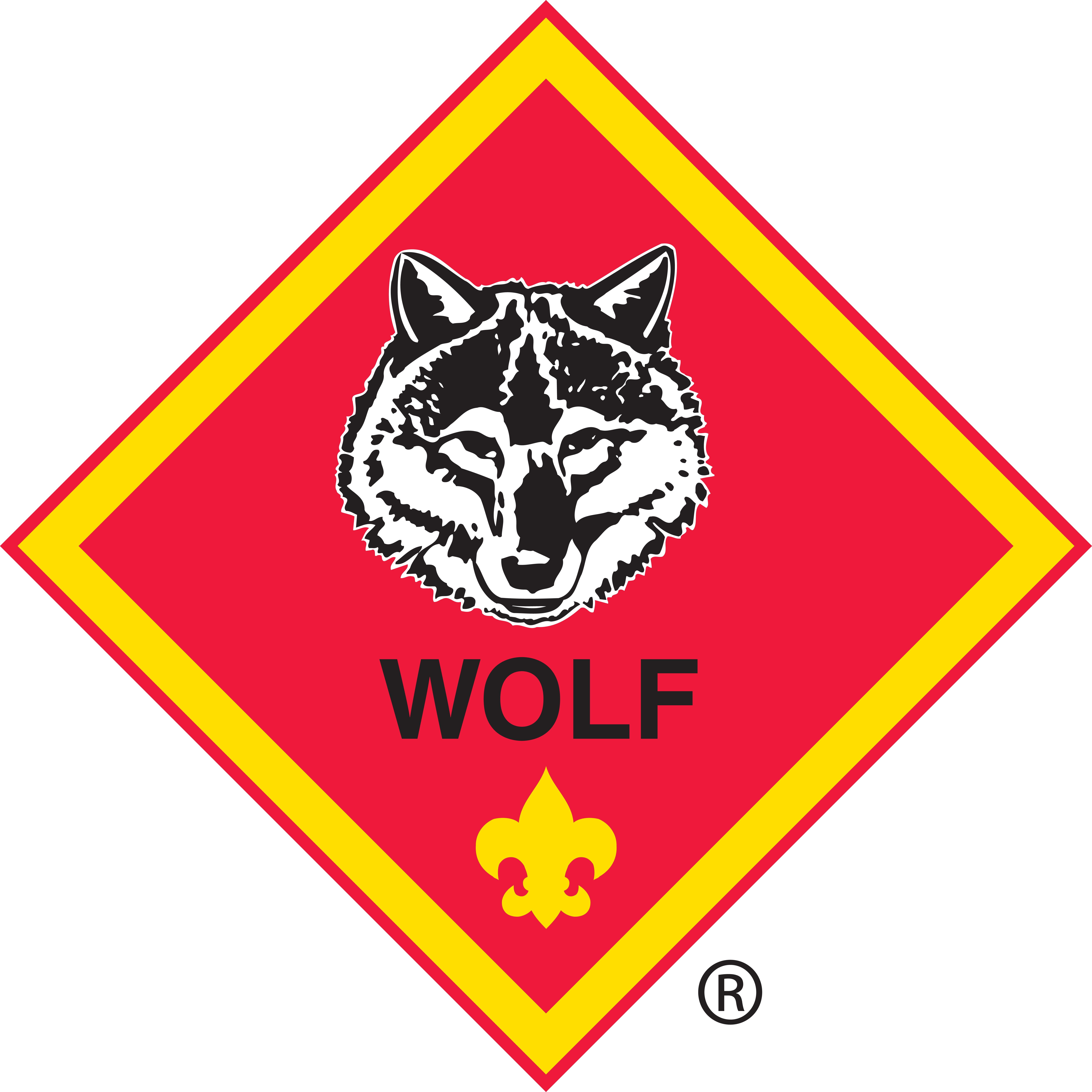 Wolf Badge of Rank