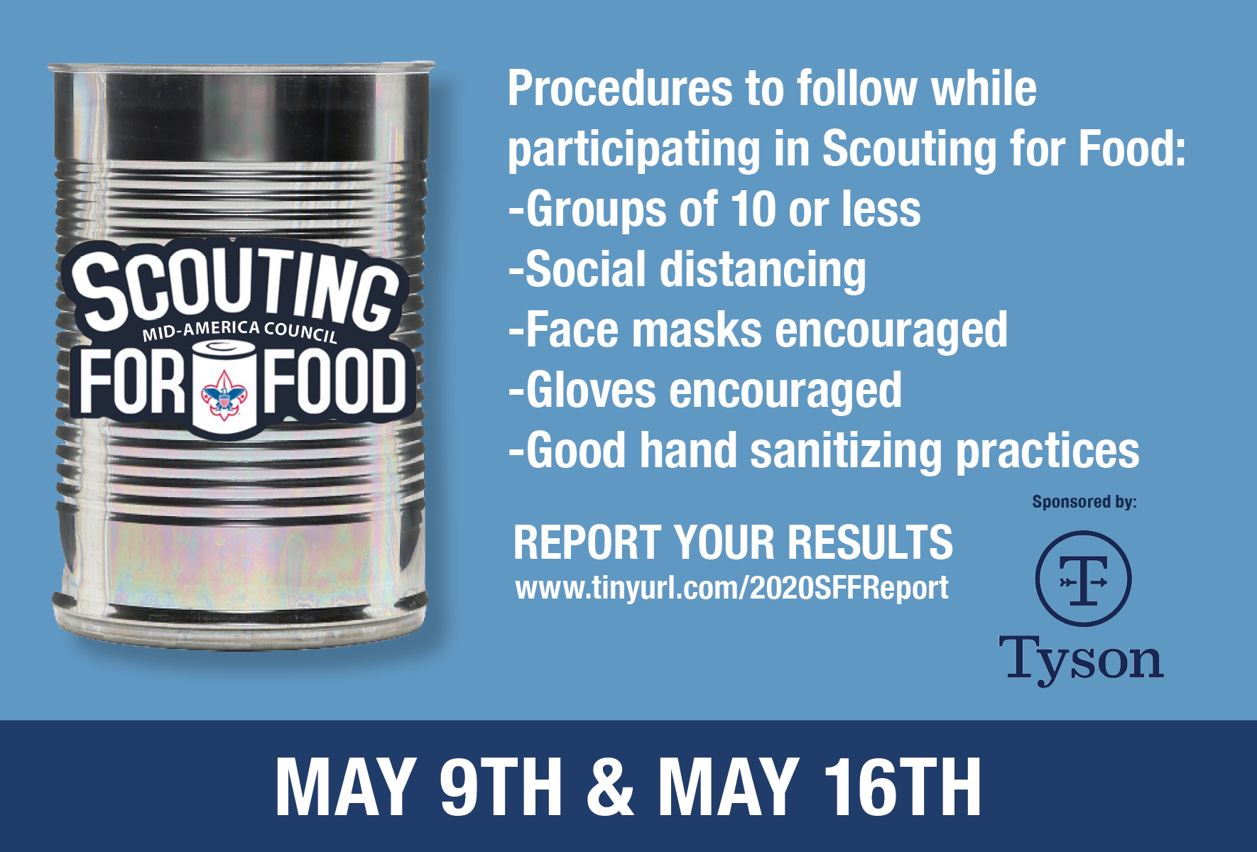 Scouting For Food post